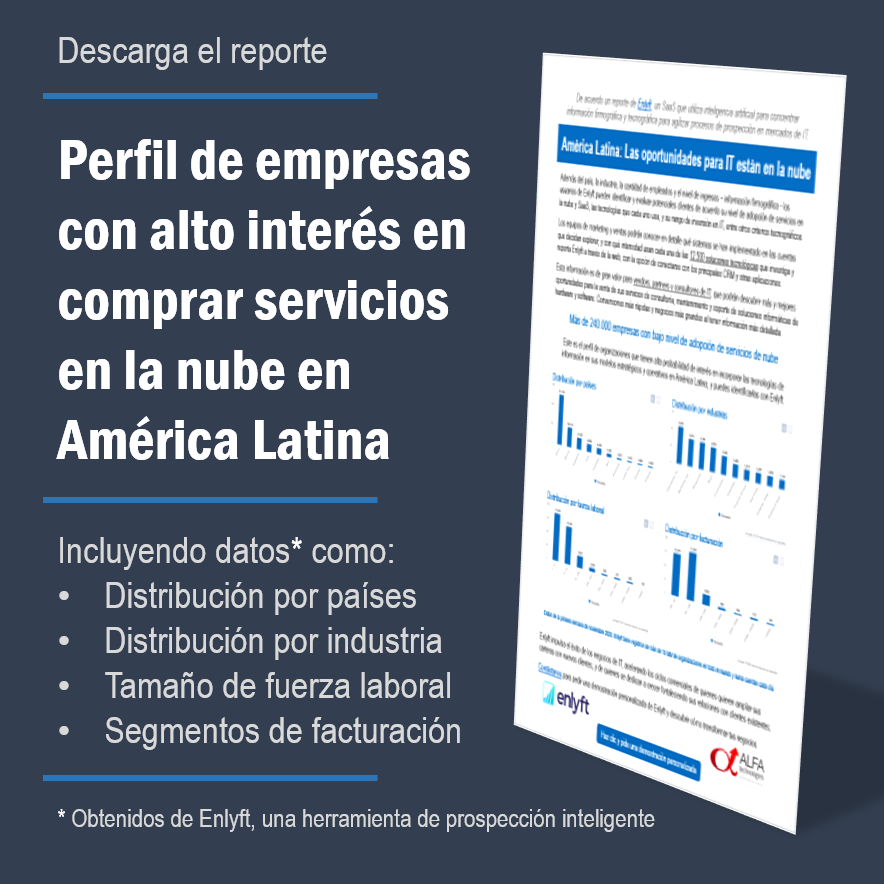 Perfil empresas low cloud en Latam